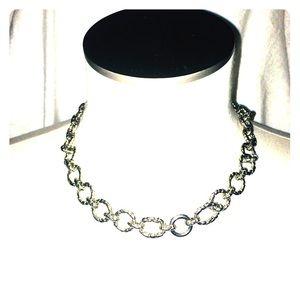 Vintage Large Chain Link Necklace